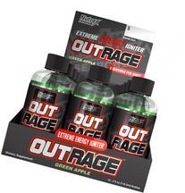 Nutrex Outrage Energy Shots - 12 Shots Blue Raspberry