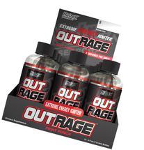 Nutrex Outrage Energy Shots - 12 Shots Fruit Punch