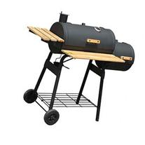 Outsunny Backyard Charcoal BBQ Grill / Offset Smoker Combo w