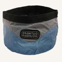Outward Hound Kyjen   Designer II Junior Port-A-Bowl, Ice