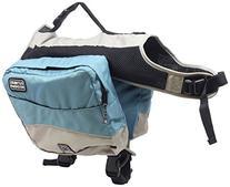 Kyjen Blue Outward Hound Excursion Dog Backpack,Saddle Bags,