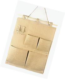 Over the Door Magazine Storage Pockets, Wall Door Closet