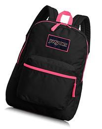 JanSport Unisex Overexposed Backpacks,Black,Regular