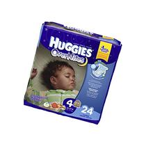 Huggies OverNites Disney Baby Stage 4 Diapers  24 CT