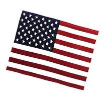 Oversized USA Flag Fleece Throw Blanket, 60 inch x 80 inch Red/White/Blue