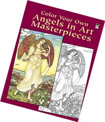 Color Your Own Angels in Art Masterpieces