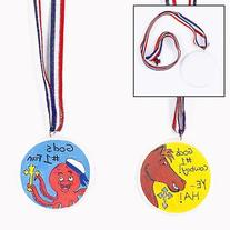 Design Your Own! Medals