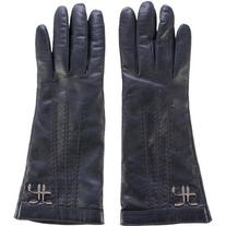 Pre-owned Alberta Ferretti Embellished Leather Gloves