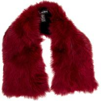 Pre-owned Adrienne Landau Red Fox Fur Stole