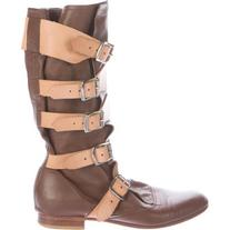 Pre-owned Vivienne Westwood Pirate Mid-Calf Boots
