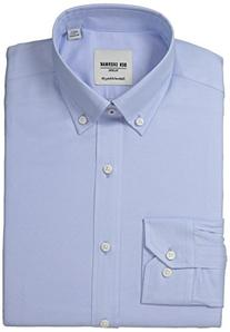 Ben Sherman Men's Skinny Fit Button Down Collar Oxford Dress