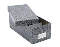 "Oxford Reinforced Board 3"" x 5"" Index Card Storage Box with"