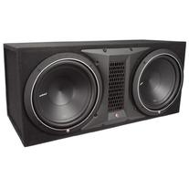 Rockford Fosgate P1-2X12 500 Watts Dual Rms Subwoofer