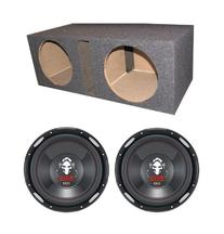"Boss P126DVC 12"" 4600W Car Power Subwoofers + Dual Vented"