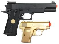 BBTac BT-P169 P169 Airsoft Pistol Package, Gold