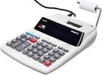 Canon P170Dh Two-Color Roller Printing Calculator, Black/Red