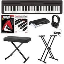 Yamaha P45B Digital Piano with Knox Bench,Knox Double X