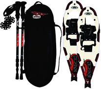 Redfeather Snowshoes Pace SV2 Series Snowshoes Kit, White,