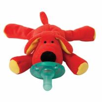 WubbaNub Infant Pacifier, Red Dog, 1 ea