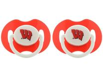 Baby Fanatic Pacifiers, Wisconsin, 2-Count