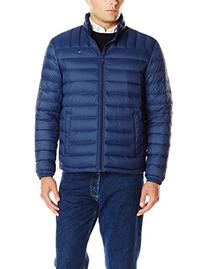 Tommy Hilfiger Men's Packable Down Jacket , Navy, Medium