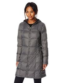 Tommy Hilfiger Women's Packable Down Jacket with Hood, Titan