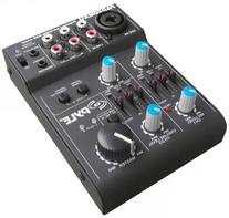 5-Channel Battery Powered Mixer Professional Compact Audio