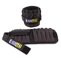 Padded, Adjustable Ankle Weight Set – Comfortable GoFit
