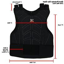 Zephyr Padded Paintball Airsoft Chest Protector