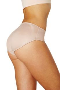 Squeem Padded Panty, Black, Extra Large