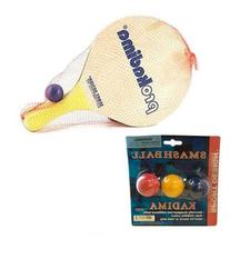Pro Kadima Paddle Set Plus Replacement Smashballs Bundle