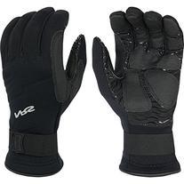 NRS Paddler Neoprene Kayak Gloves-Black-S