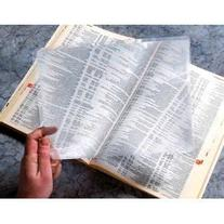 Pack of  3X Full Page Magnifier Fresnel Lens