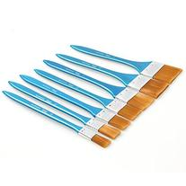 Paint Brush- 7 Large Area Brushes for Acrylic, Oil,