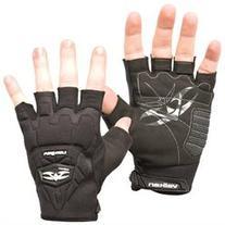Valken Paintball Impact Half Finger Gloves - 2XL/3XL - Black