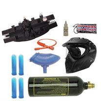 Zephyr Paintball Silver Package Starter Kit