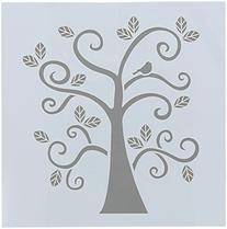 FolkArt Painting Stencil, 30610 Curly Tree