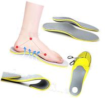PAIR 3D PREMIUM COMFORTABLE ORTHOTIC SHOES INSOLES INSERTS