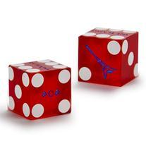 Pair  of Official 19mm Casino Dice Used at the Paris Las