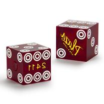 Pair  of Official 19mm Casino Dice Used at the Plaza Casino