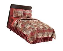 Paisley Floral Patchwork Quilt, Multi, Full/Queen