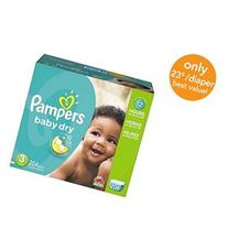 Pampers Baby Dry Size 3 Diapers Economy Plus Pack - 204