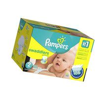 Pampers Swaddlers Size 2 Diapers Economy Plus Pack - 186