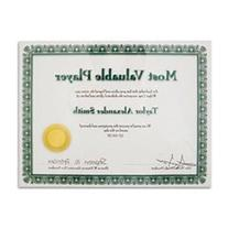 ADVANTUS Panel Wall Certificate Holder, Clear Acrylic, 8.5 x