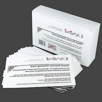 Panini Check Scanner Cleaning Cards featuring