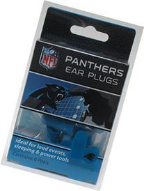 Panthers Earplugs 6 Pair 3 Pack