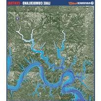 Navionics Paper Map: Lake Cumberland - Central Kentucky