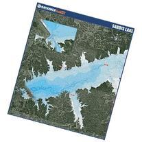 Navionics Paper Map: Sardis Lake Mississippi