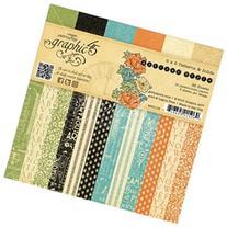 Graphic 45 Paper Pad 6X6 36/Pkg-Artisan Style