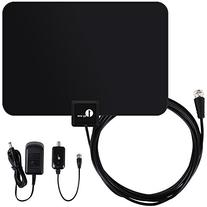 1byone Amplified HDTV Antenna - 50 Mile Range with